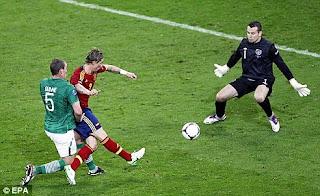 Fernando Torres Gol vs Irlandia