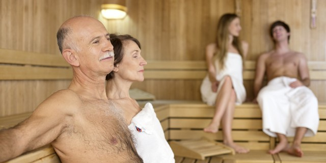 spending time in sauna is the healthiest habit ever