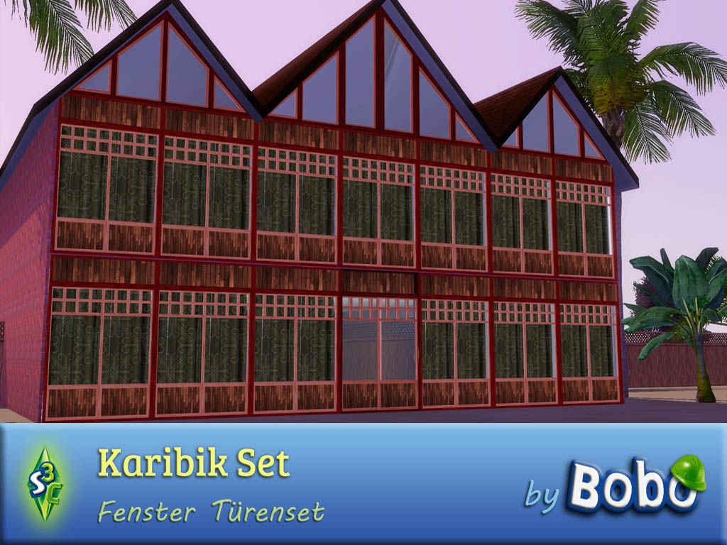 My sims 3 blog new windows and doors by bobo for New windows and doors