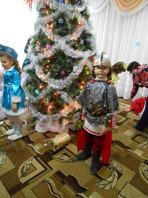 новогодний костюм Богатырь