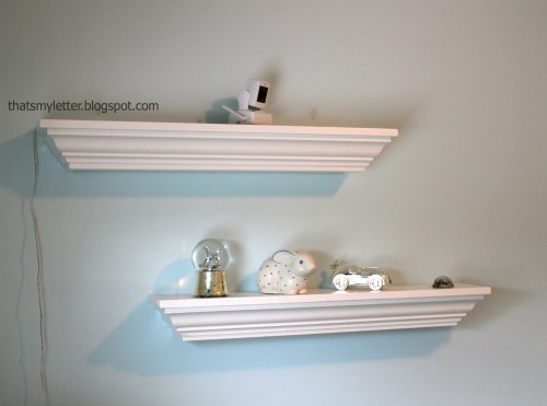 Crown Molding Shelves Ledges