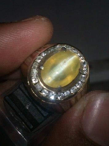 sold out!)Opal Cat's eye Iket Perak   Rp. 400.000,-  