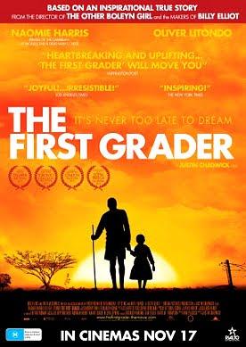 Filme Poster The First Grader DVDRip XviD & RMVB Legendado