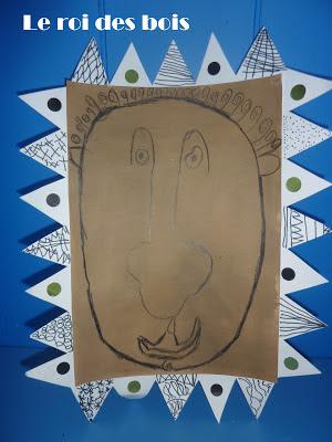 Art visuel le roi des bois