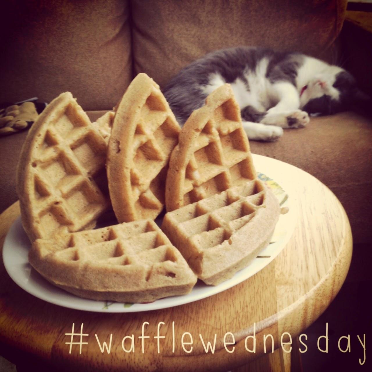 waffle Wednesday, gluten free waffles