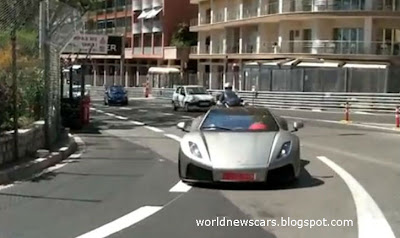 GTA Spano Accelerates in Monaco
