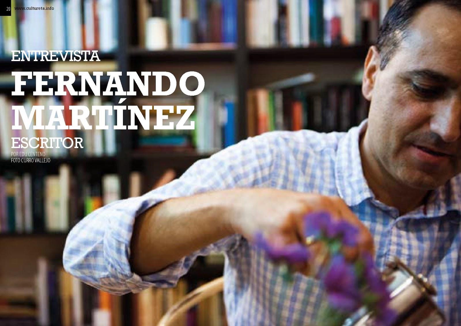 FERNANDO MARTÍNEZ: Entrevista