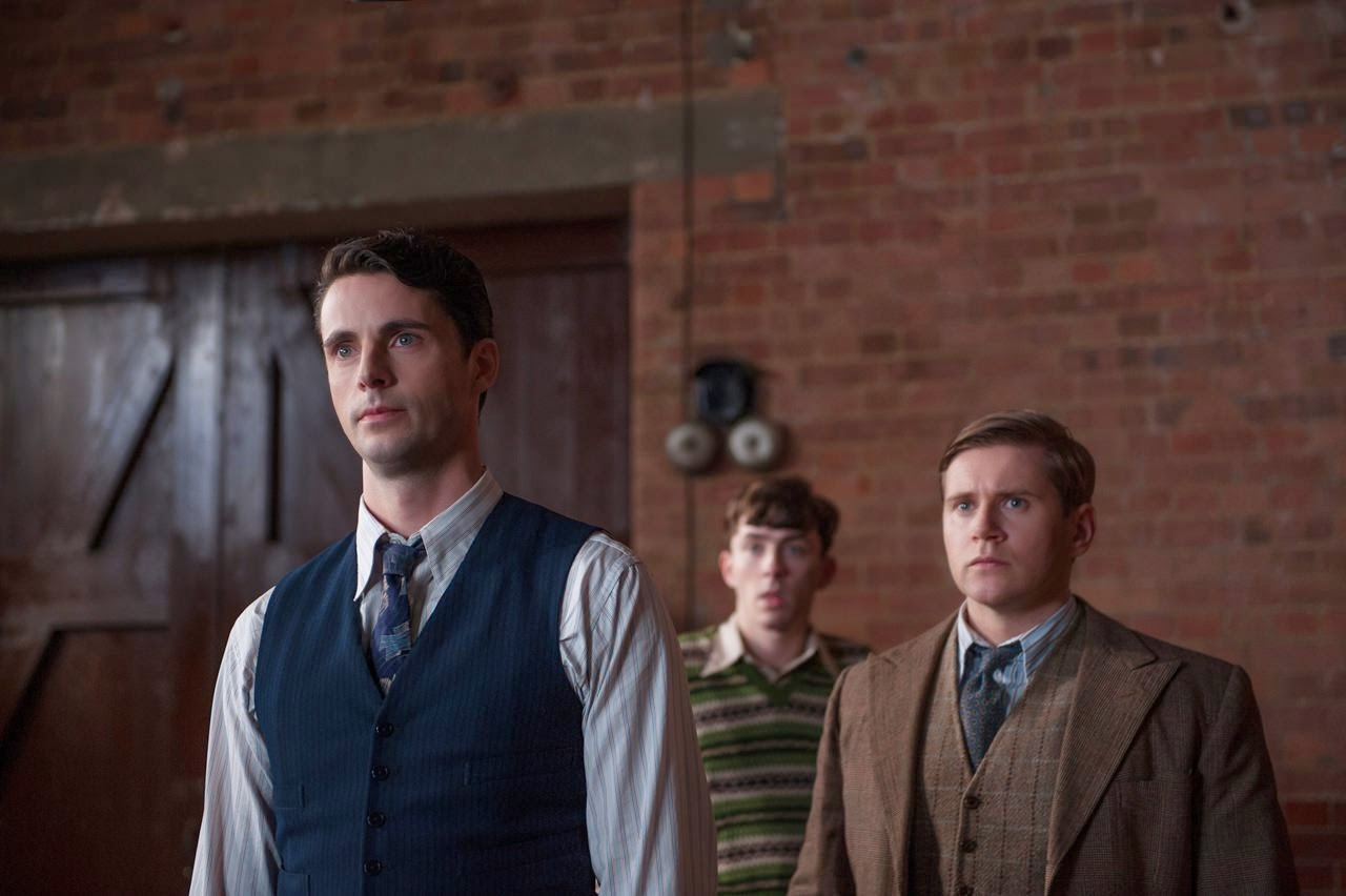 the imitation game-matthew goode-matthew beard-allen leech