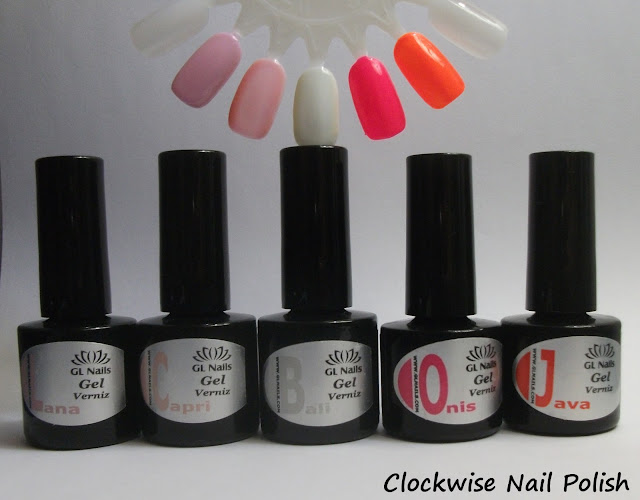 The Clockwise Nail Polish Gl Nails Um Presente Para A Vida Gel