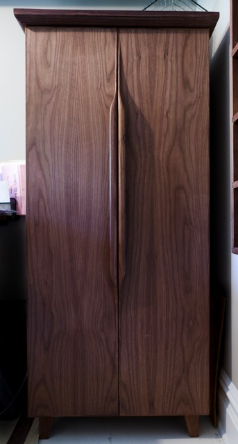 WALNUT CABINET