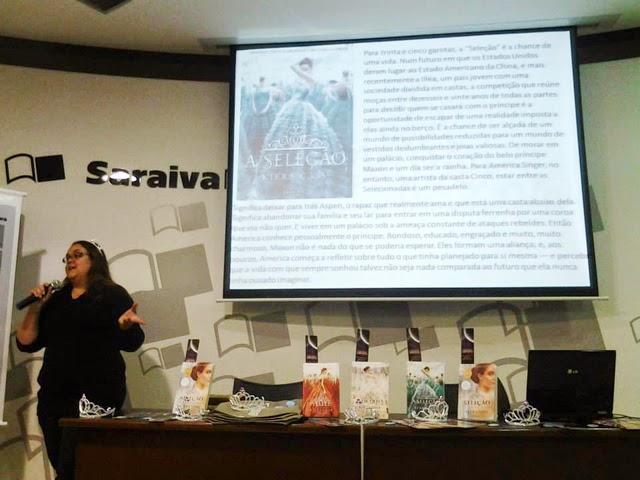 Encontro de fãs de A Escolha Kiera Cass da Editora Seguinte - Cobertura do Evento