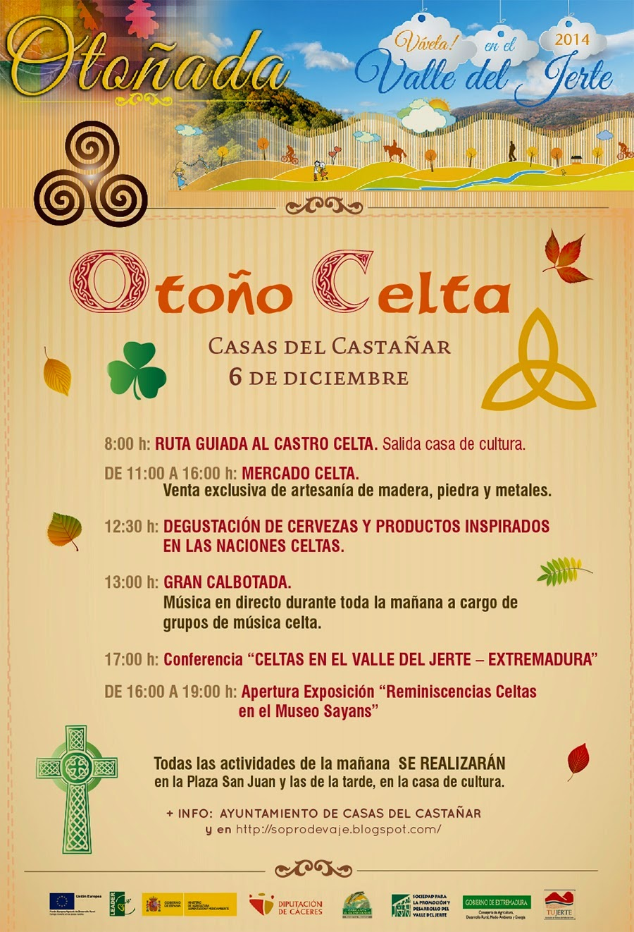 OTOÑO CELTA (Casas del Castañar)