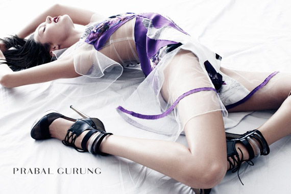 Prabal Gurung advertising