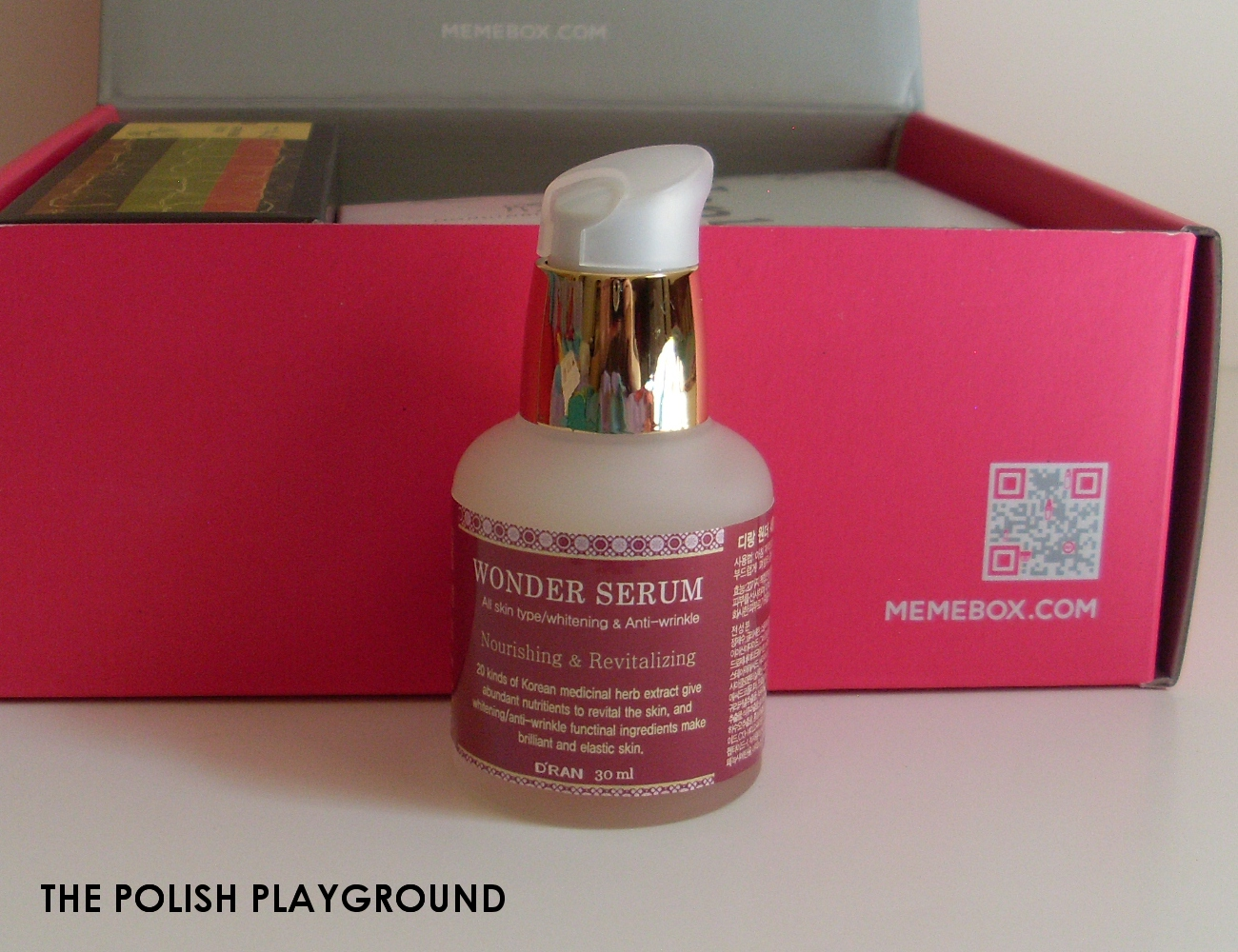 Memebox Special #8 Oriental Medicine Unboxing - D'RAN Wonder Serum