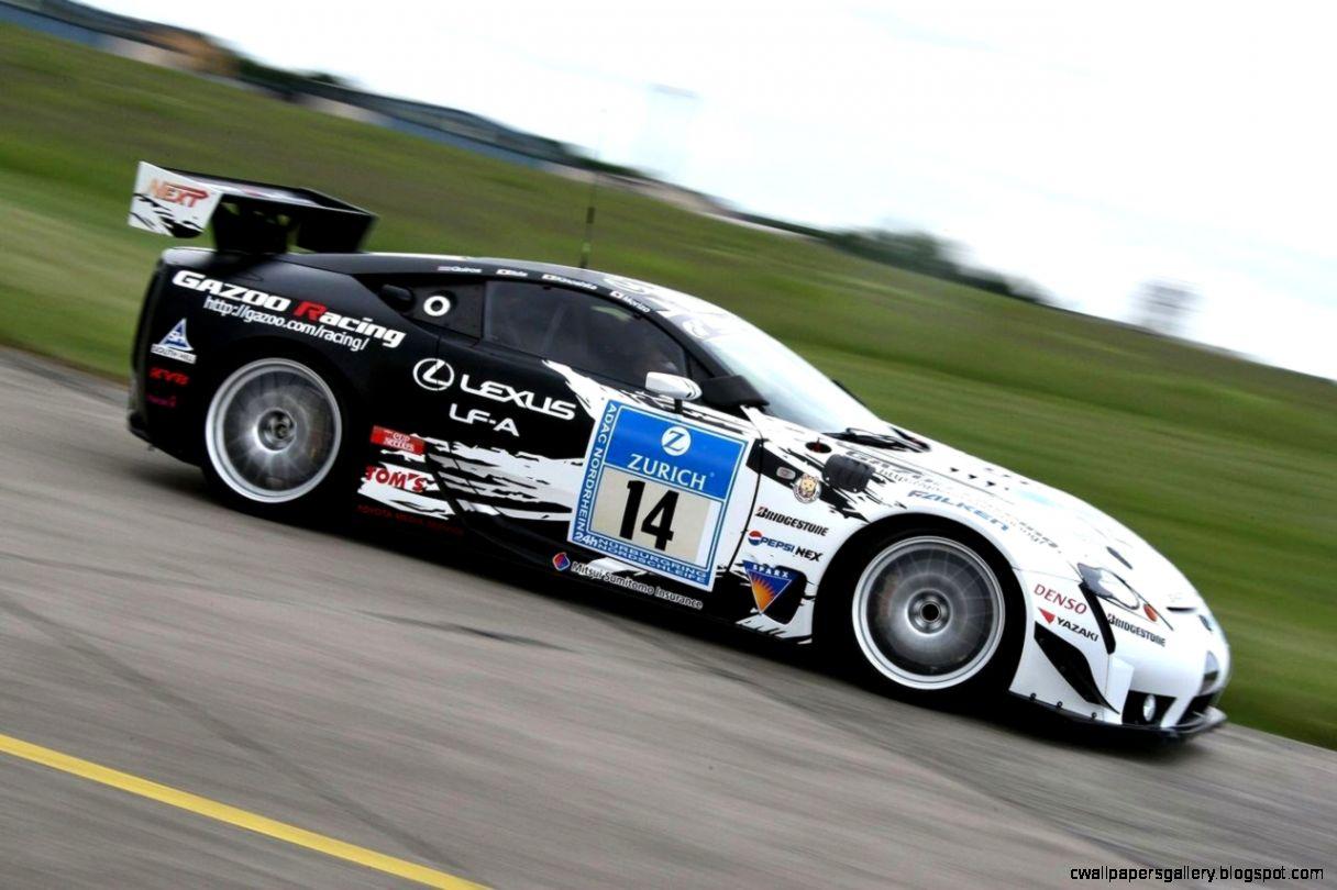 Lexus Race Car
