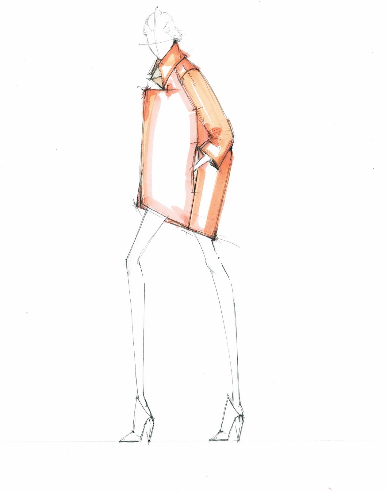 Alessandra De Gregorio Fashion Illustration