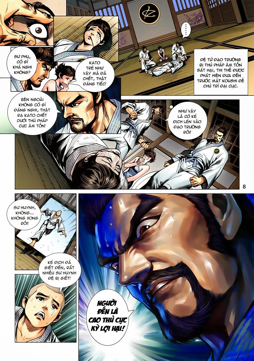 Tân Tác Long Hổ Môn chap 643 - Trang 8