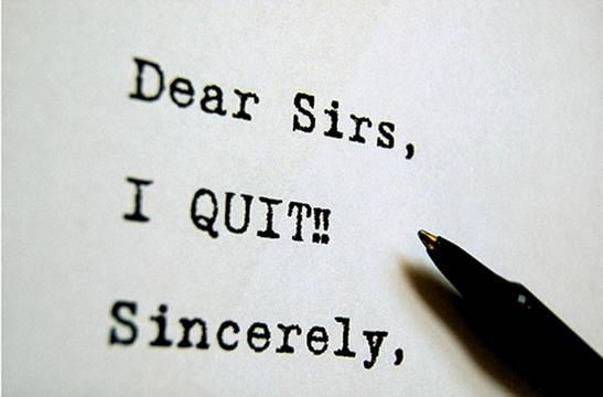 Cara-cara Berhenti Kerja Yang Betul