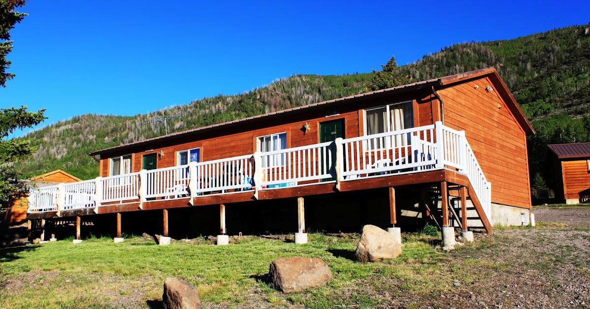 Rental cabins at fish lake utah muskrat 6 person deluxe for Fish lake cabins