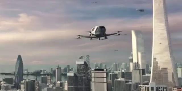 Αυτό είναι το μέλλον: Το πρώτο ιπτάμενο ταξί έκανε βόλτα στο Λας Βέγκας [Βίντεο]