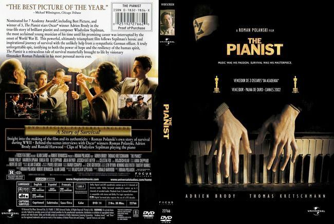 The Pianist – Latino – DVD9