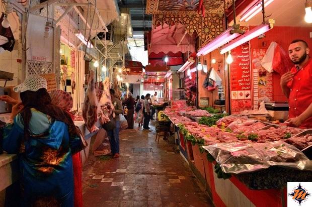 Meknes, souk Atriya