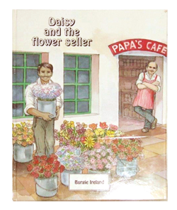 Daisy and the flower seller