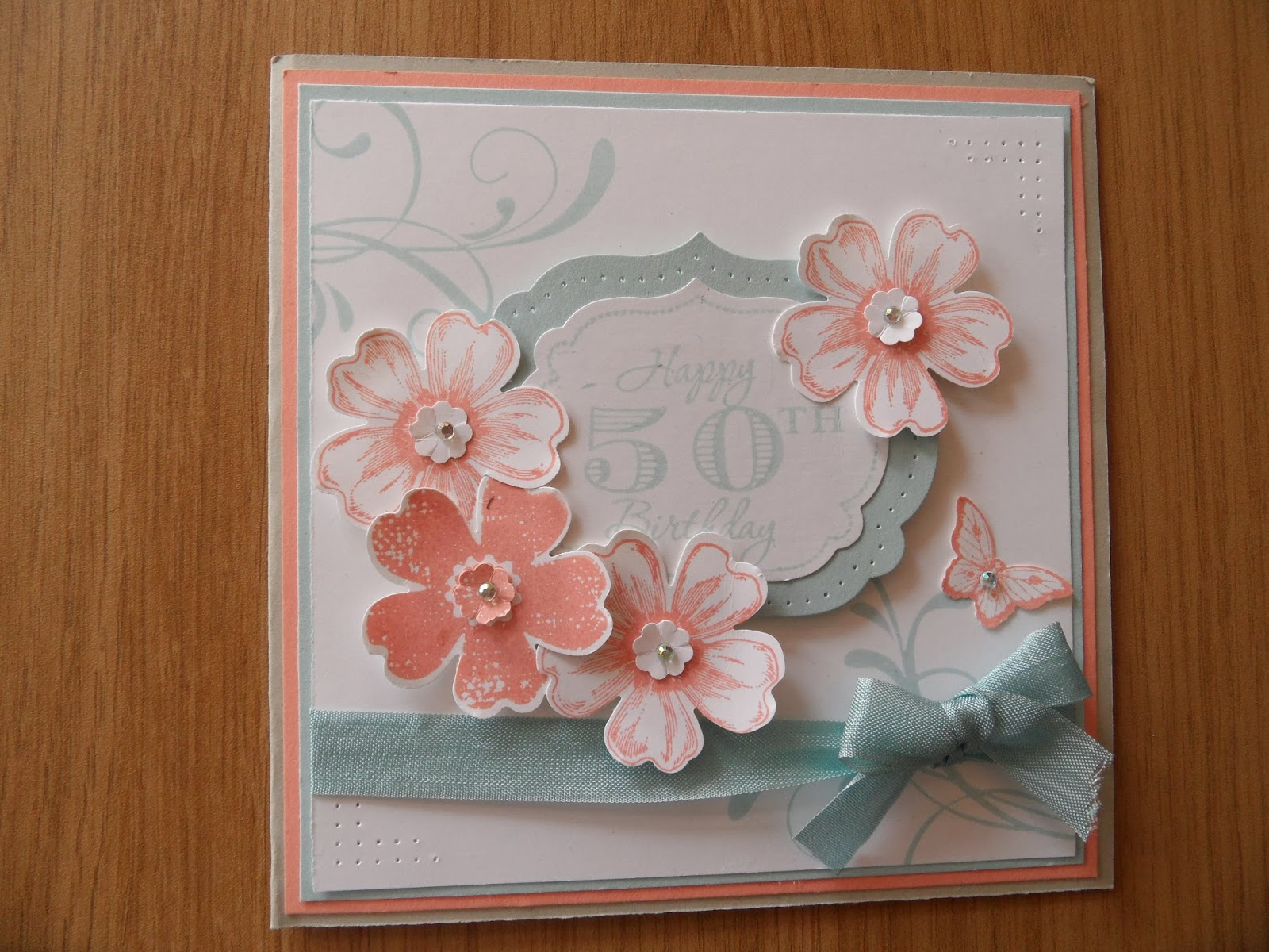 Lindas Craft Room 50th Birthday Card