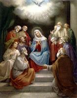 La Pentecôte.