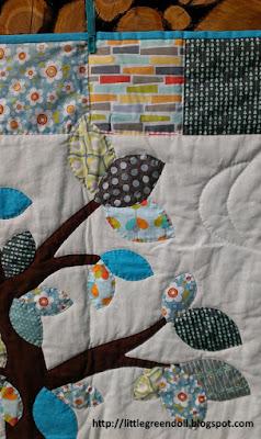 Woodland Baby Quilt - Colcha de bebé