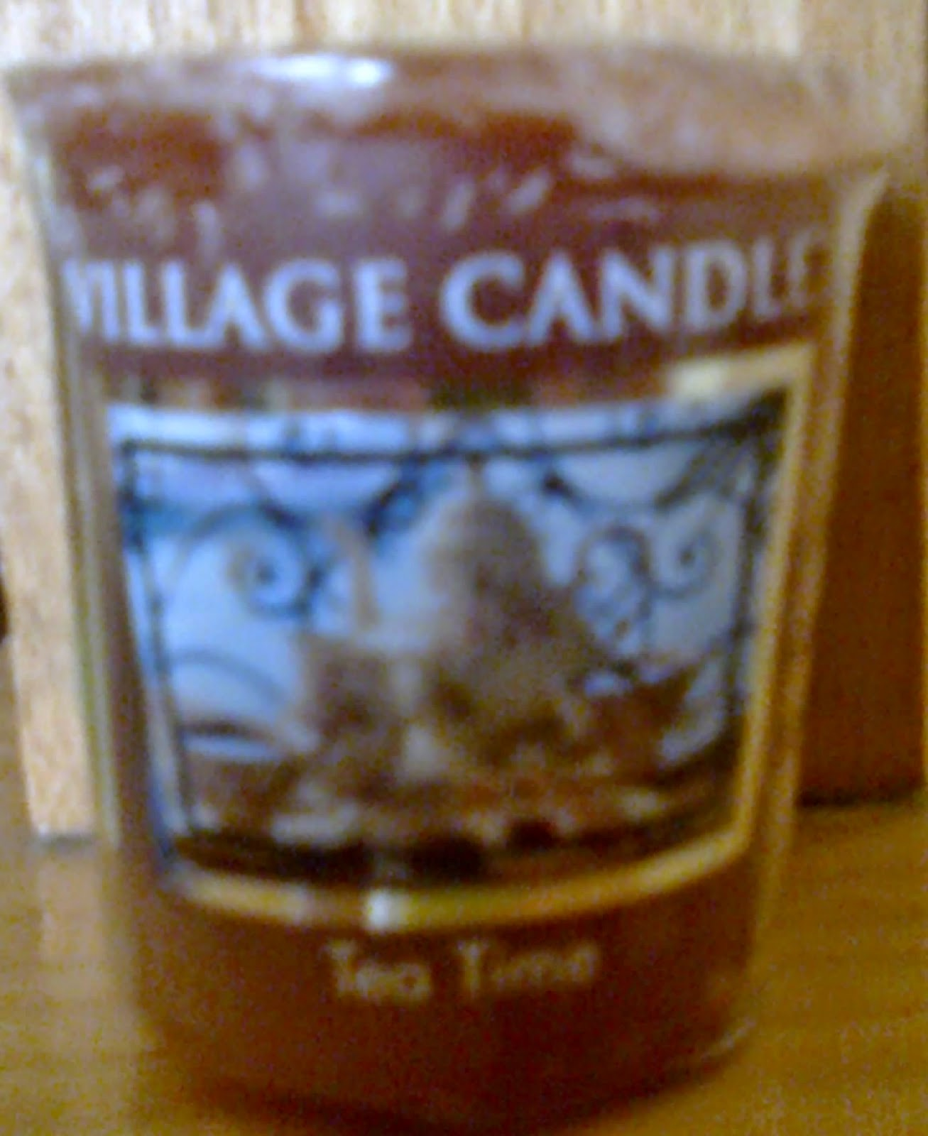 Tea Time Village Candle