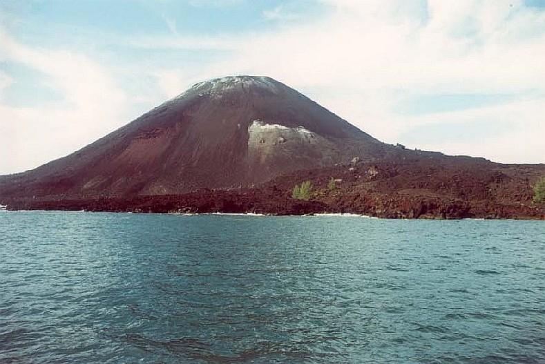 krakatoa now how tall