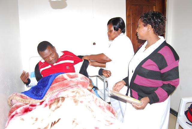 na muhuguzi wa hospitali ya mkoa wa iringa oliva msimbwa baada ya