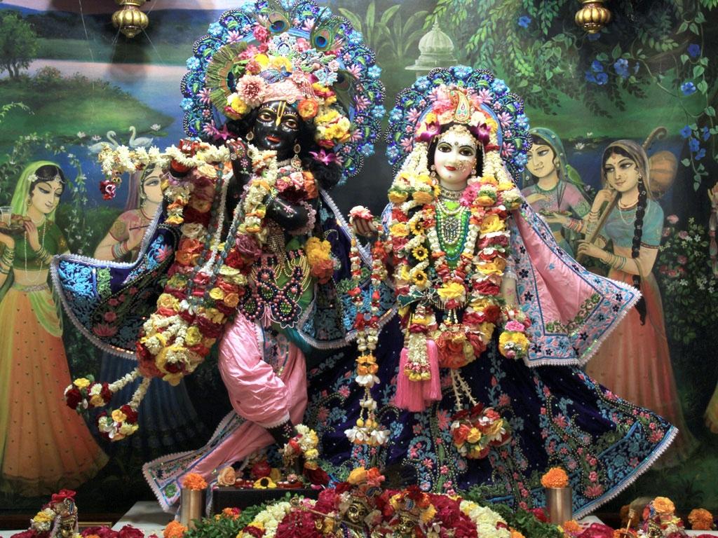 lord radha krishna iskcon hd wallpapers | hindu god hd wallpapers