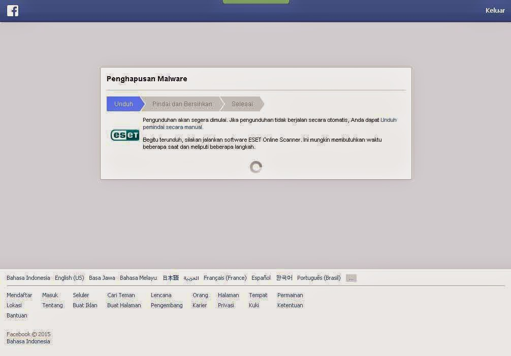 Eset Anti Virus Untuk Facebook
