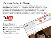 It's Now Easier To Share With TM Official Tube & TM World App