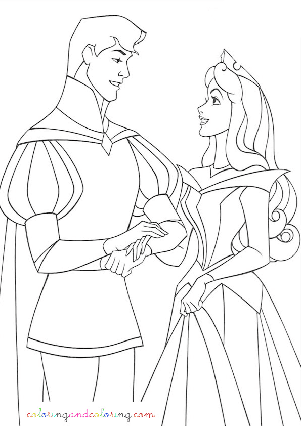 coloring sheet disney boyfriends
