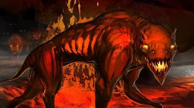 Βρέθηκε σκελετός του θρυλικού Hellhound πάνω από 2 μέτρα ύψος, κοντά σε ένα πρώην μοναστήρι!!