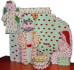 Nacimiento Navidad de chuches