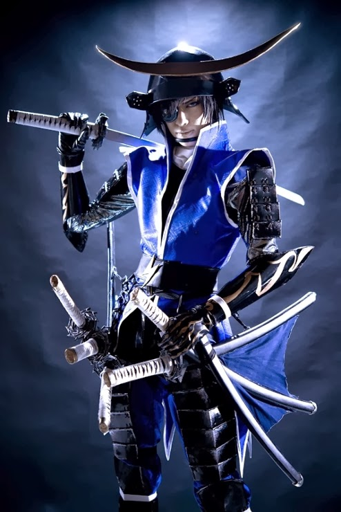 Cosplaymaniax: Date Masamune (Sengoku Basara) Cosplay by Mayu