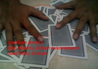 Trik Sulap Menebak Kartu via Wajah gambar 2