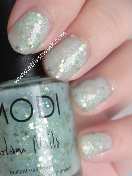 Modi Glam Nails nail polish 24 - Apple Candy