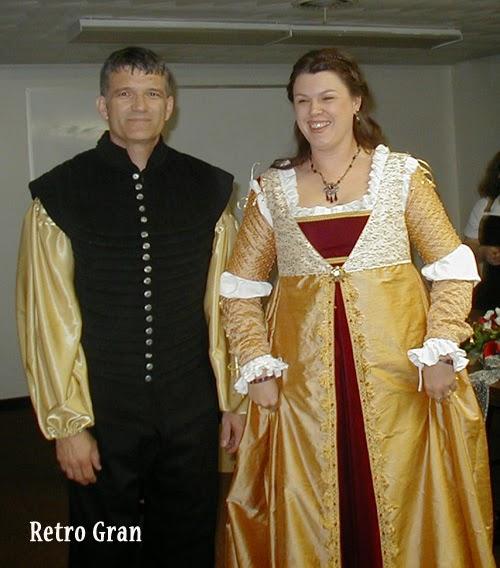 Renaissance Wedding Attire