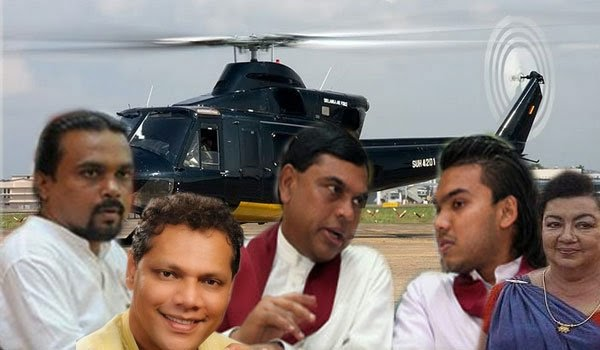 Uncovered : Rajapaksas' stunning flight costs in front of Prez surveys