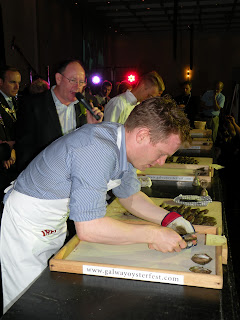 Galway Oyster & Seafood Festival. Photograph by Janie Robinson, Travel Writer
