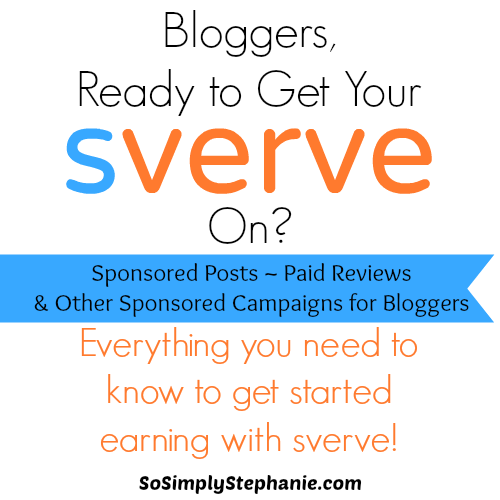 about sverve paid blogger campaigns