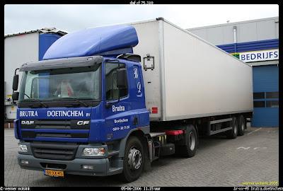 Truckgek werner daf cf - Een ster in mijn cabine ...