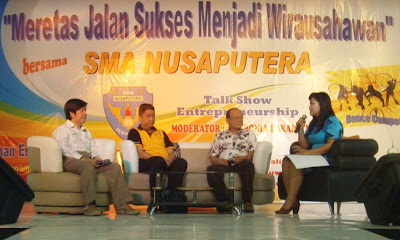 Talkshow Fun Entrepreneurship SMA Nusaputera