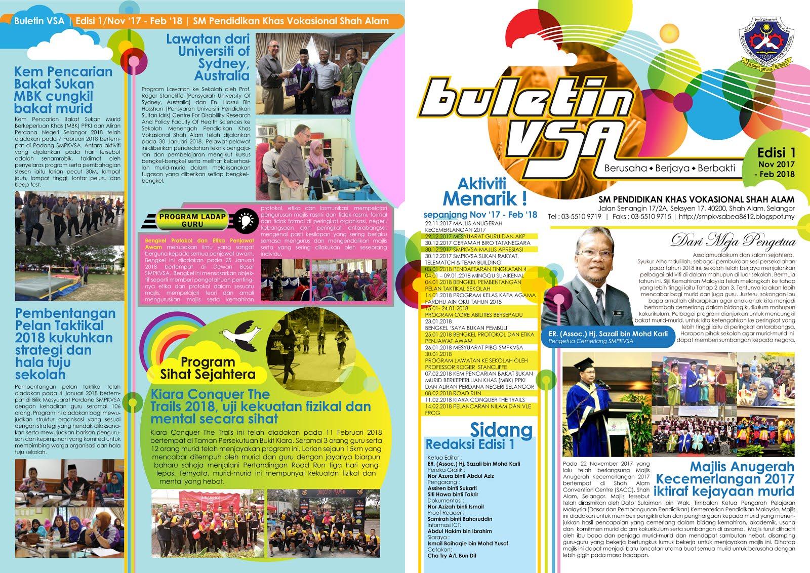 Buletin Edisi 1 2018 (November 2017 - Februari 2018)