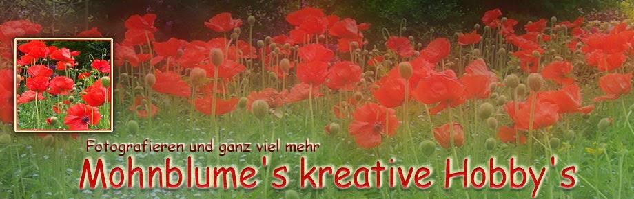 Mohnblume's kreative Hobby's